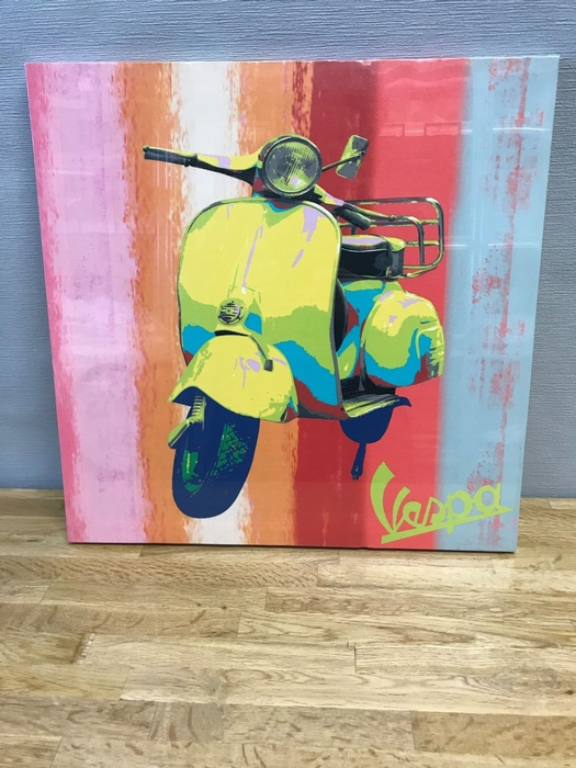 Canvas Vespa